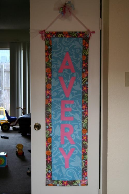 Avery banner
