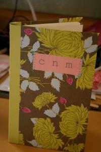 Calli's notebook
